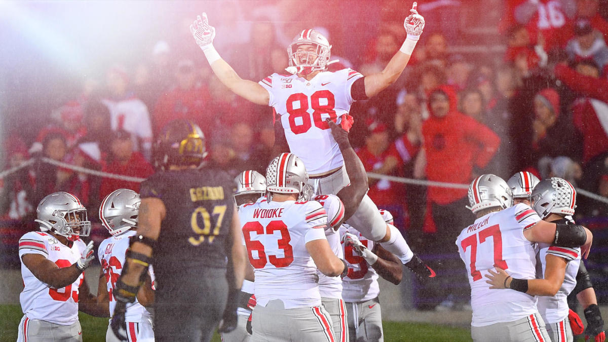 College Football Playoff Rankings projection: Ohio State, LSU jockey for No. 1 spot