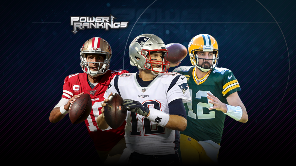 NFL Week 8 Power Rankings: Packers climb behind Aaron Rodgers, Cowboys and Vikings also move up