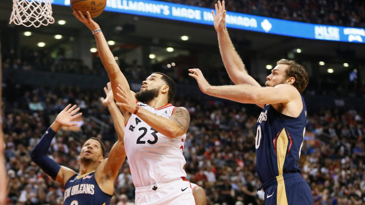NBA opening night: Raptors' Fred VanVleet, Pascal Siakam are ready for more and proved it in win over Pelicans