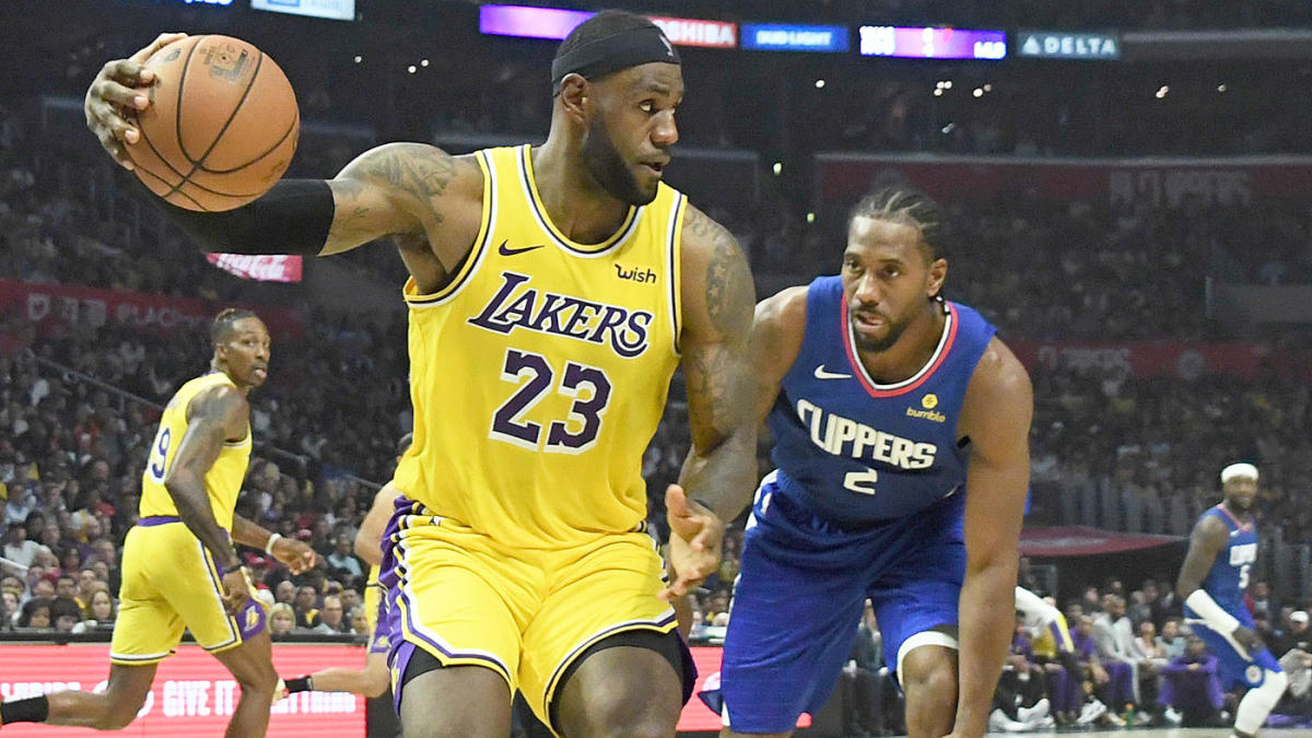 LeBron James dismisses Lakers-Clippers