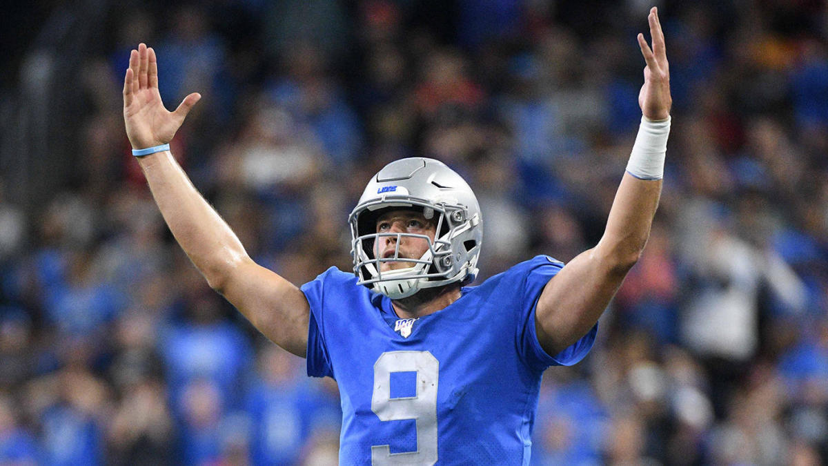Fantasy Football Week 8 Start 'Em & Sit 'Em: Red-hot Matthew Stafford has giant advantage on the competition