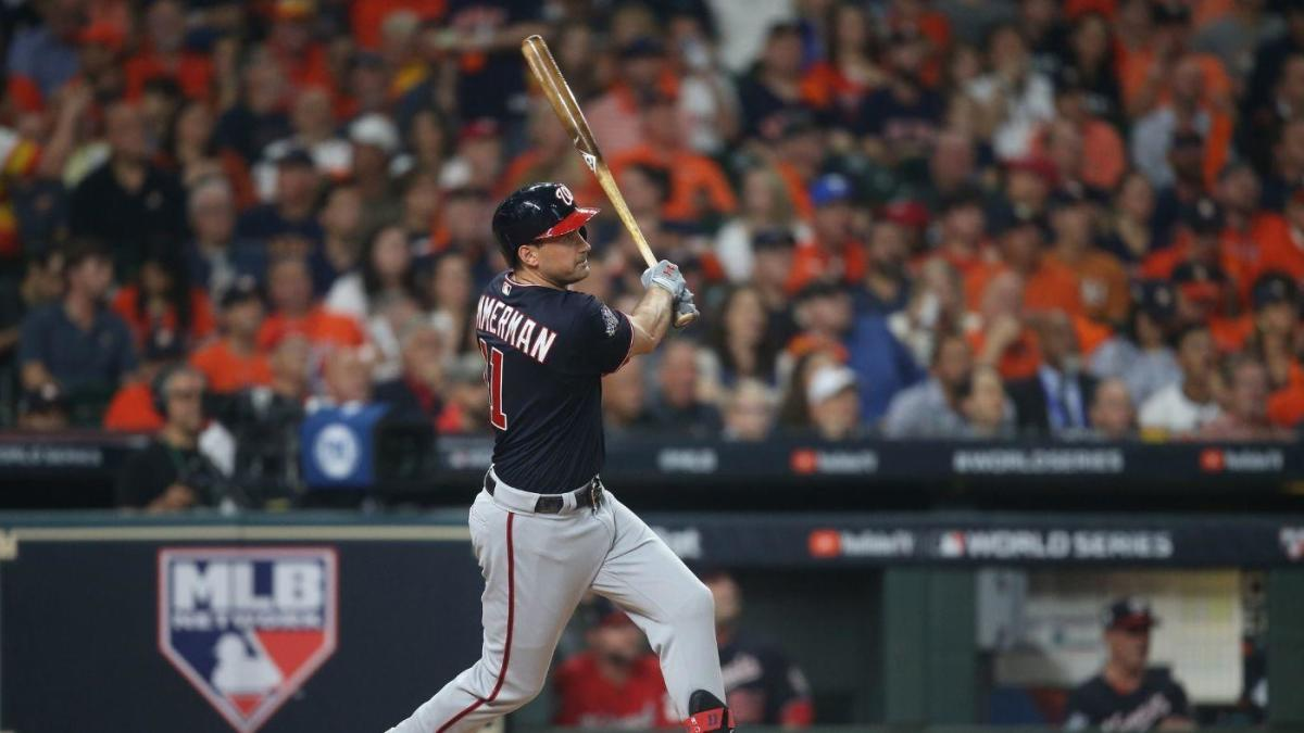 World Series: Nationals' Ryan Zimmerman makes history with franchise's first Fall Classic home run