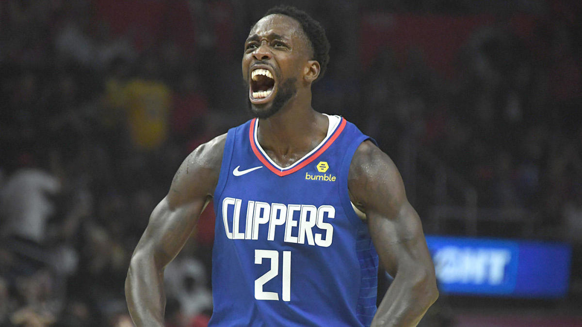 Clippers' Patrick Beverley, Derrick Walton Jr. play hot potato with ball at conclusion of win over Pacers