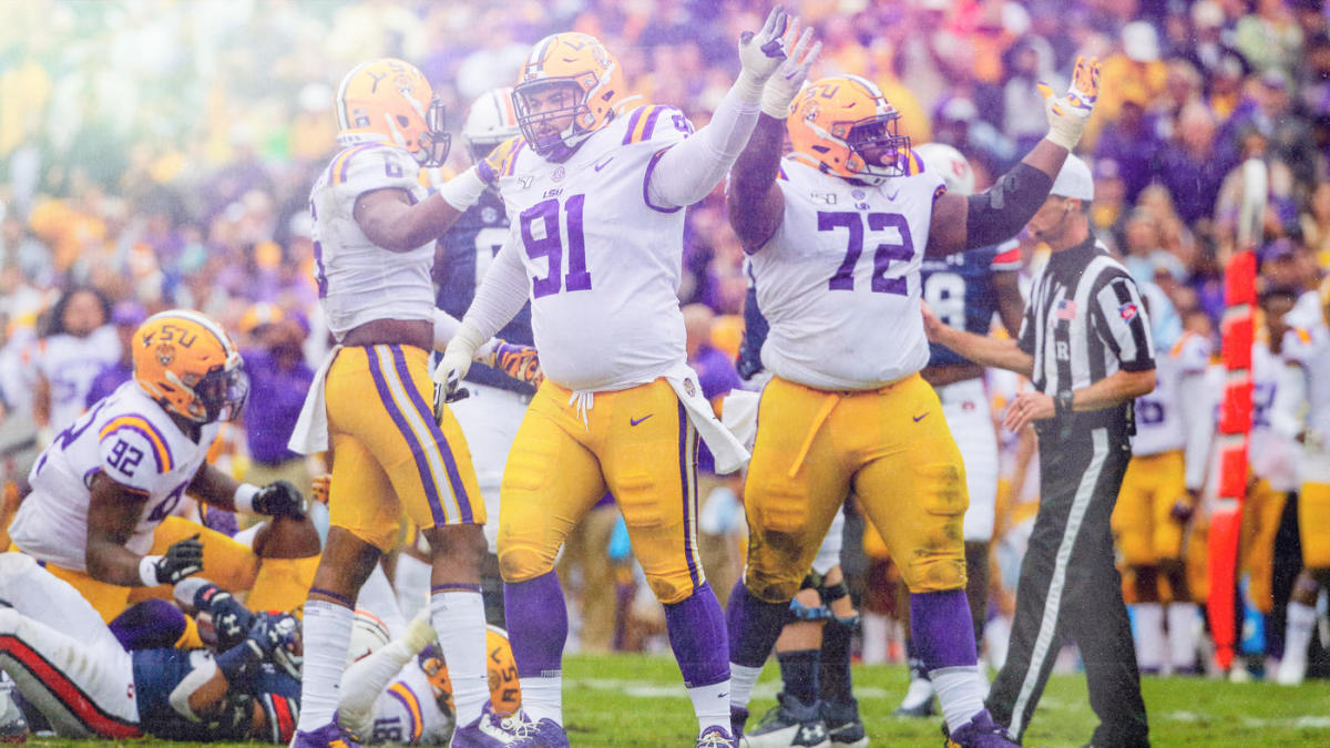 College Football Bowl Projections Lsu Vaults Into College