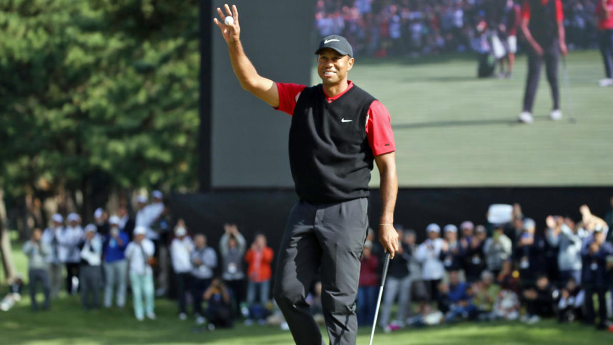 Image result for WOODS CLAIMS RECORD-TYING 82ND PGA TOUR WINS