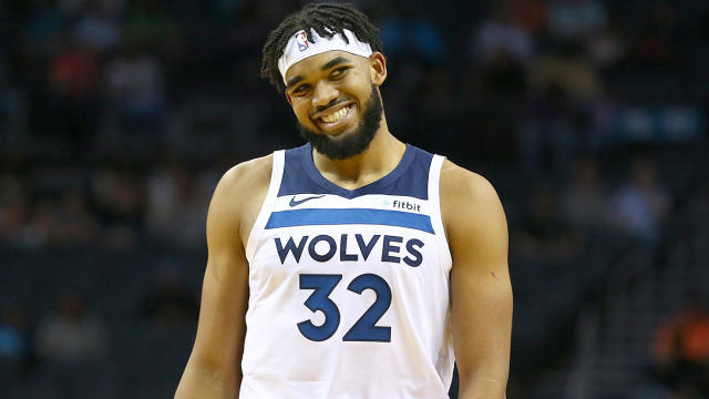 Karl Anthony Towns Injury Update Wolves Star Begins On Court Activities Still No Timetable For Return Cbssports Com