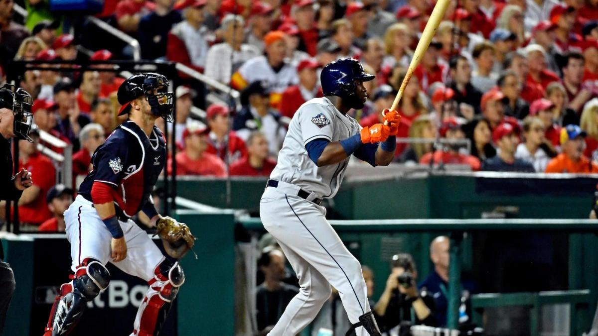 2019 World Series Astros Yordan Alvarez Goes Deep In Game 5