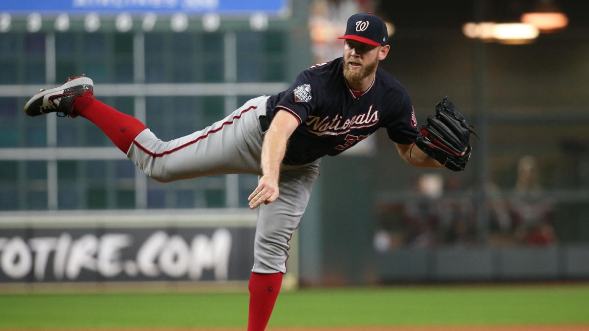 MLB rumors: Stephen Strasburg could sign deal to return to Nationals before Winter Meetings