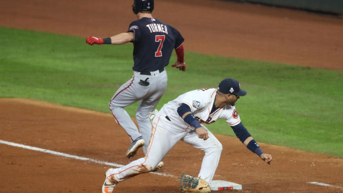World Series: Astros manager AJ Hinch says umpires got controversial Game 6 call wrong