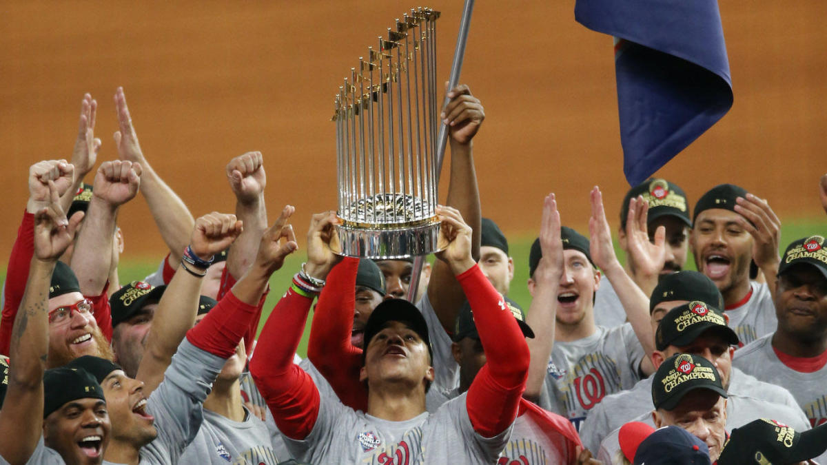 Fresh off their World Series win, the Washington Nationals will visit the White House on Monday