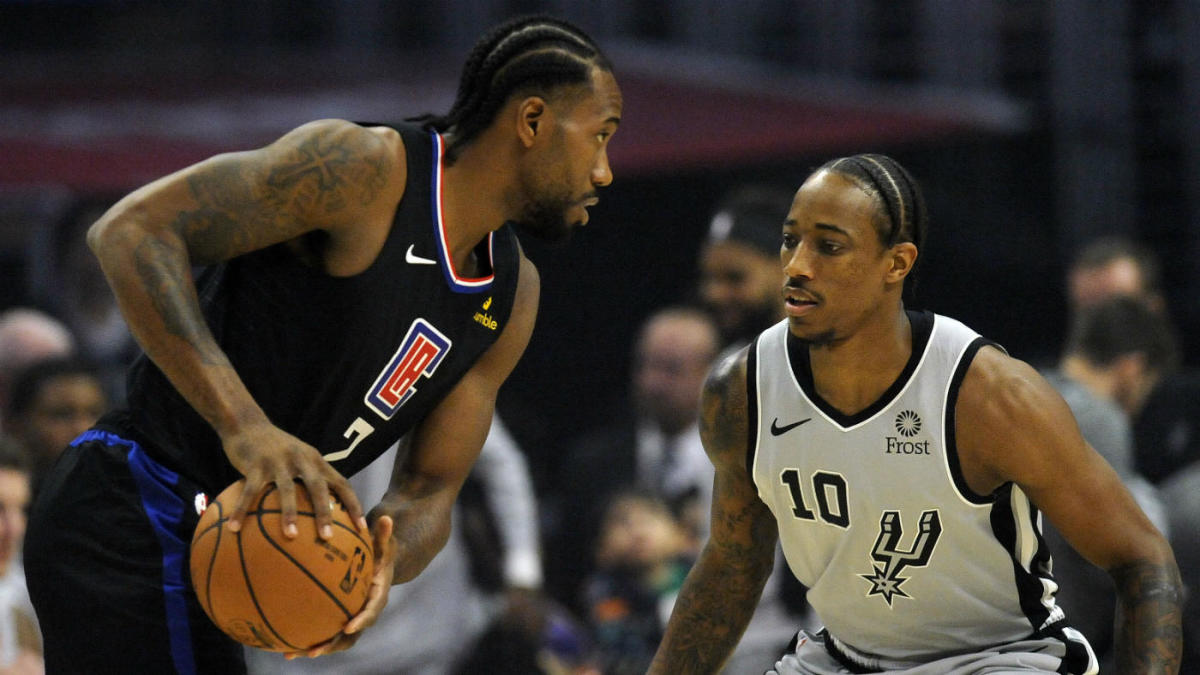 Clippers' Kawhi Leonard dominates fourth quarter to hand his old team, the Spurs, their first loss
