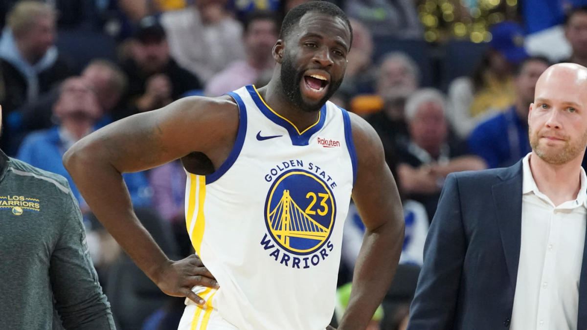 Warriors Draymond Green Yells At Fan Sitting Courtside During