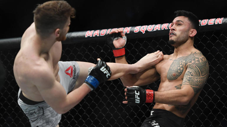 UFC 244 results: Edmen Shahbazyan scores highlight-reel knockout of Brad Tavares