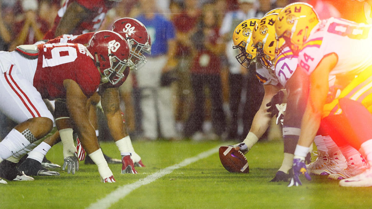 College football bowl projections: Alabama-LSU an elimination game or College Football Playoff preview?
