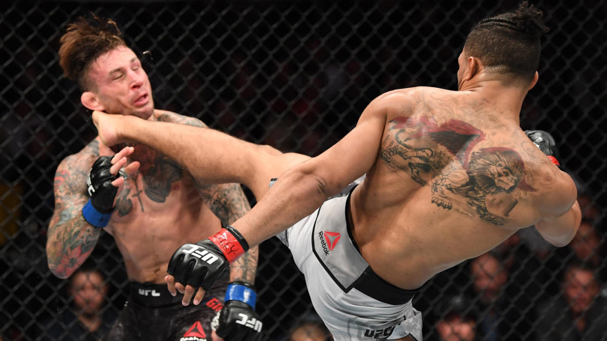 UFC 244 results, highlights: Kevin Lee smashes Gregor Gillespie with devastating head-kick knockout