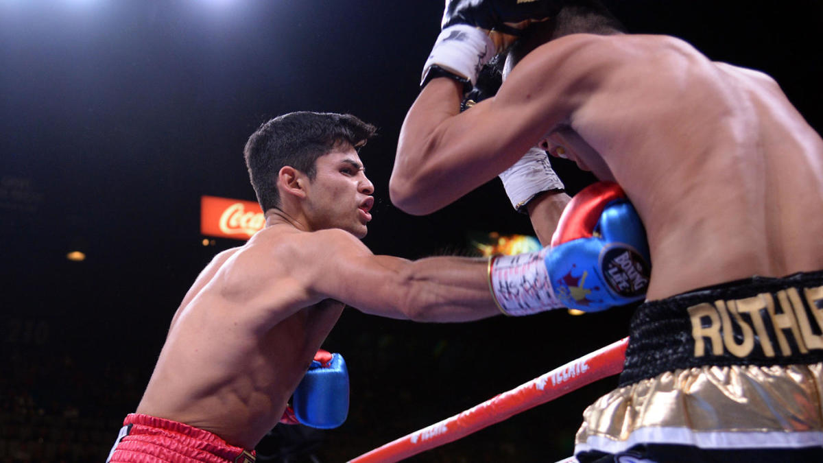 Ryan Garcia makes statement in dismantling Romero Duno in Canelo vs. Kovalev co-main event