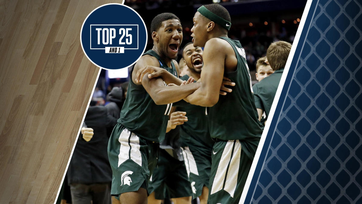 College Basketball Rankings Michigan State Is No 1 In Top