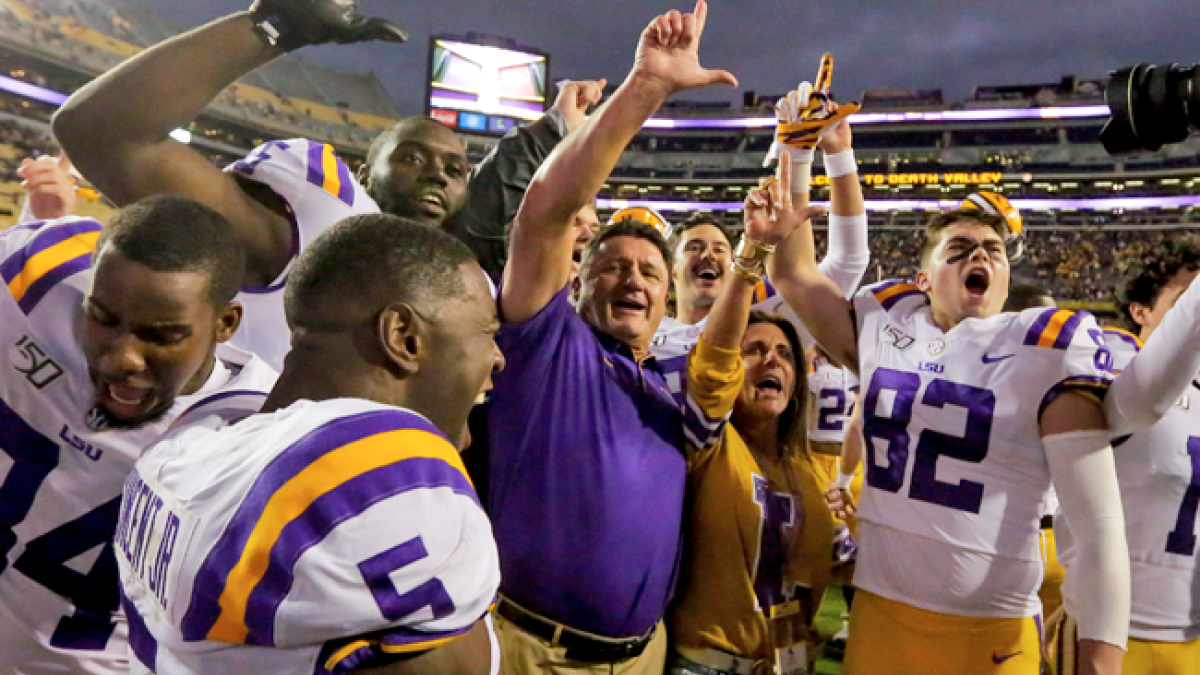 Why beating Alabama is the final hurdle for Ed Orgeron to prove LSU is elite again