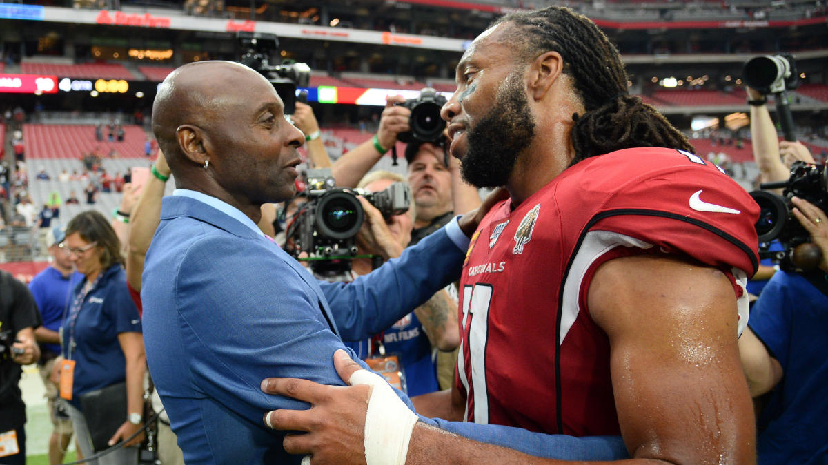 Hall of Famer Jerry Rice reveals who he thinks has the best hands, footwork in the league