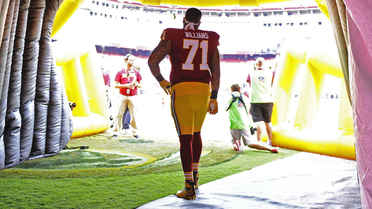 Trent Williams confirms he is done with Washington: 'I'll never be a Redskin again'