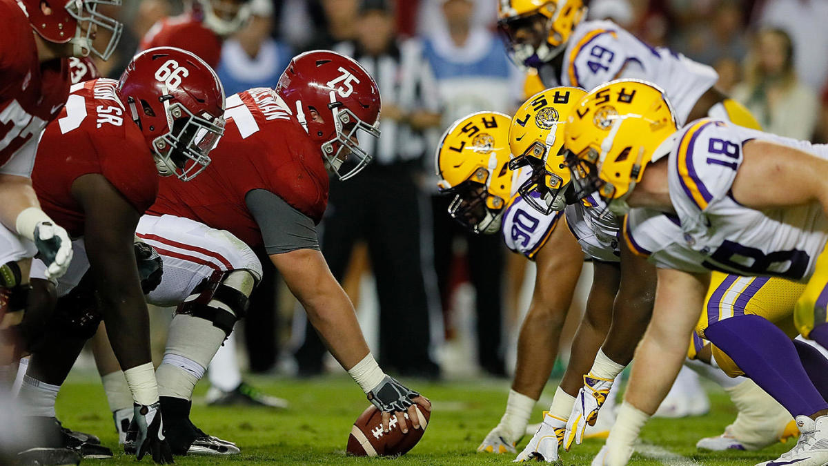 College football odds, lines, schedule for Week 14: No. 1 Alabama opens as four-touchdown favorite over LSU