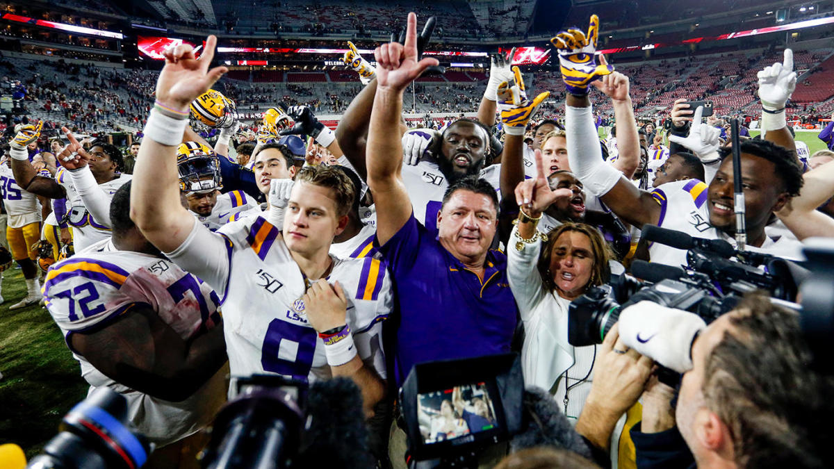 LSU vs. Alabama: Here's all the ways the Tigers stunned the Tide and the  college football world - CBSSports.com