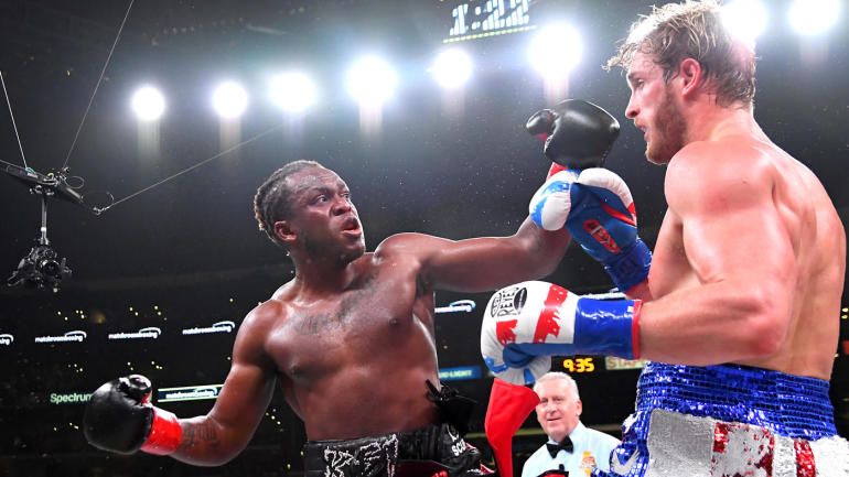 Logan Paul vs. KSI 2 fight results, highlights: KSI wins controversial split decision in celebrity bout