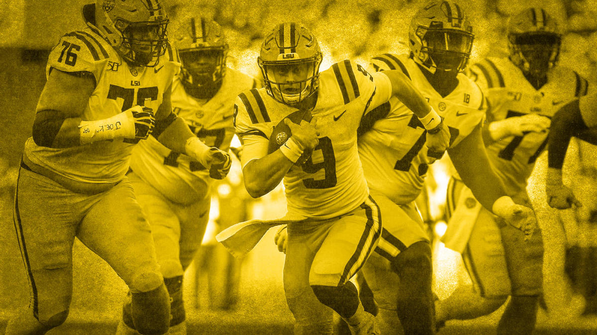 College Football Rankings Lsu Edges Ohio State Takes Over
