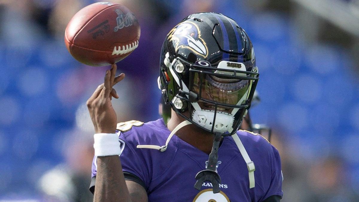 NFL Week 11 scores, highlights, updates, schedule: Lamar Jackson, Sam Darnold throw four TDs apiece