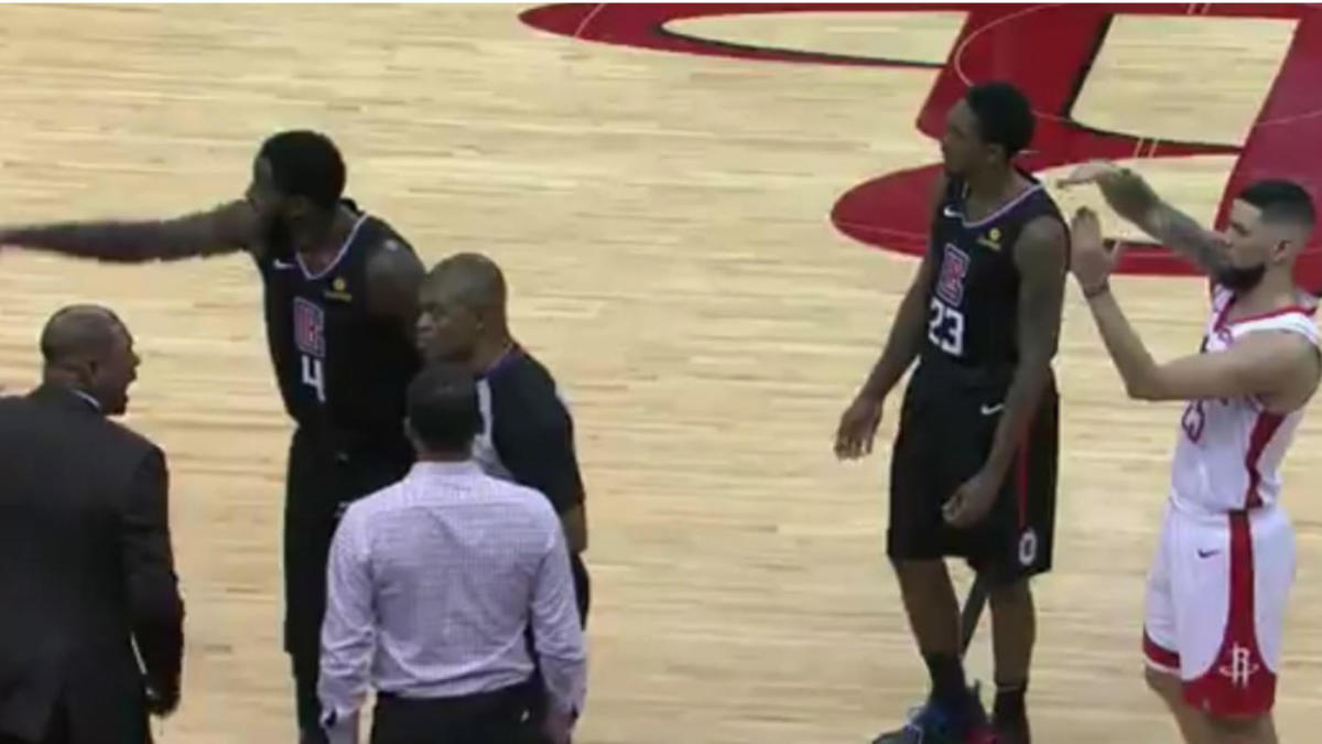 Austin Rivers trolls his dad, Doc Rivers, into a technical foul, ejection at end of Rockets' win over Clippers