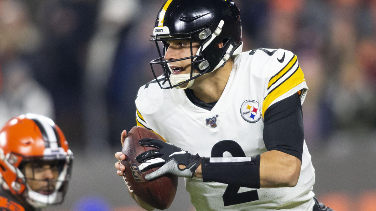Steelers Browns Fight Mason Rudolph Will Not Pursue Legal