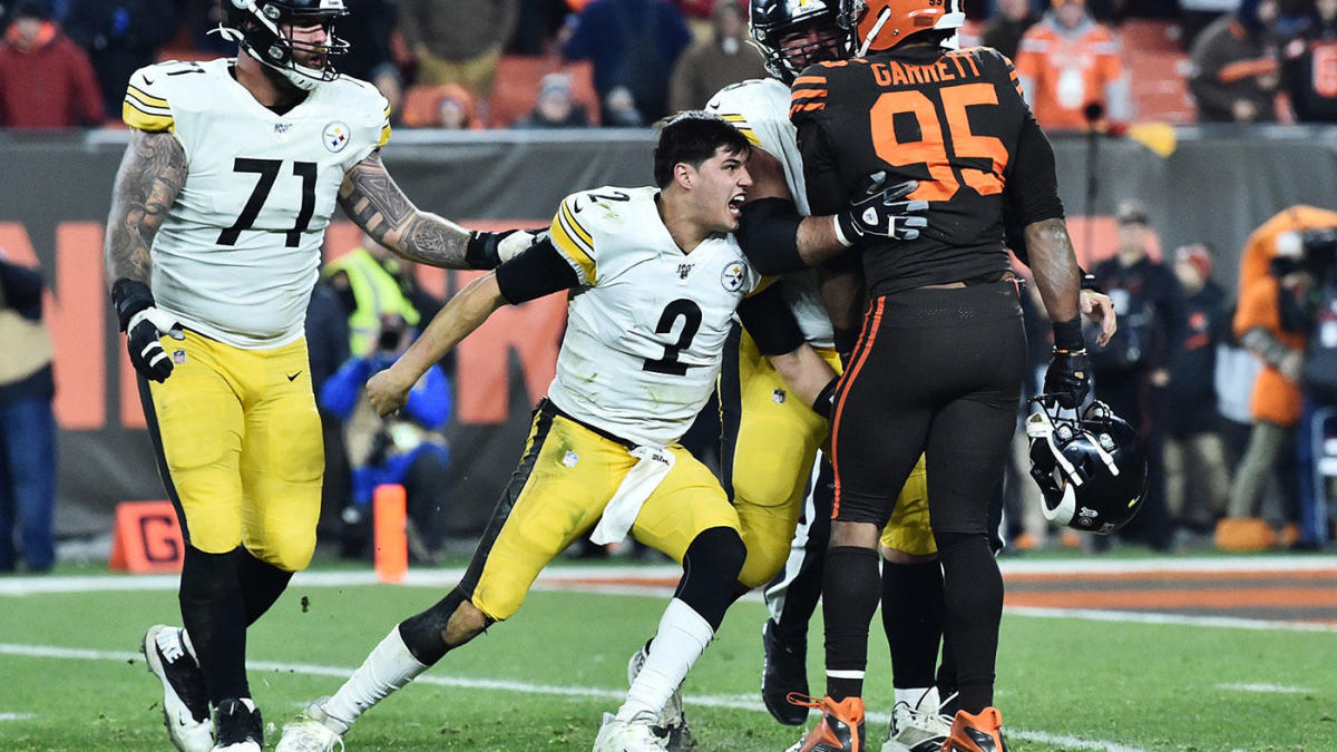 Steelers-Browns fight: Mason Rudolph will be fined by NFL for role in altercation with Myles Garrett
