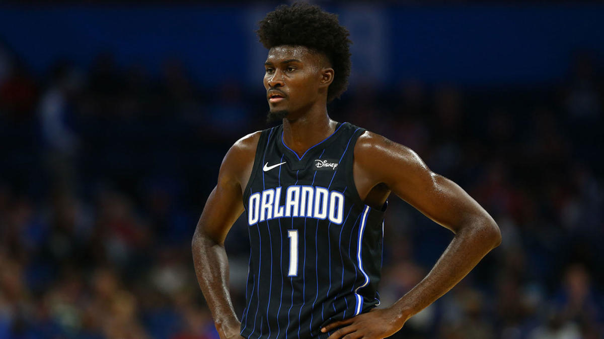 Jonathan Isaac suffers ankle injury during jersey unveiling event for Orlando Magic, per report