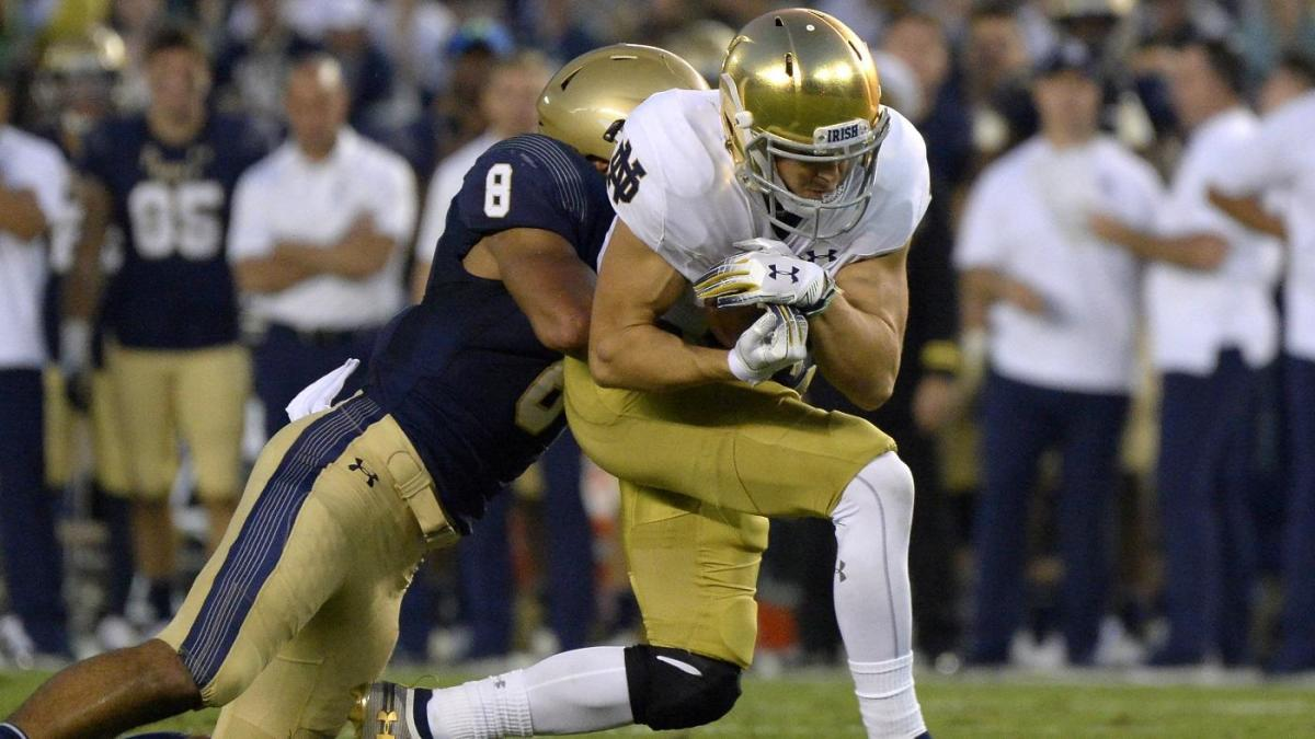 Notre Dame vs. Navy: Live stream, watch online, TV channel, kickoff time, odds, prediction, pick, line