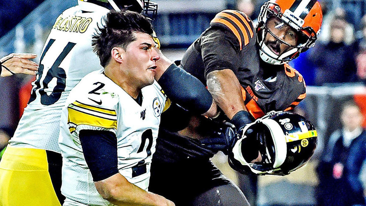 Mason Rudolph has no 'ill-will' toward Myles Garrett: 'I have to do a better job of keeping my composure'