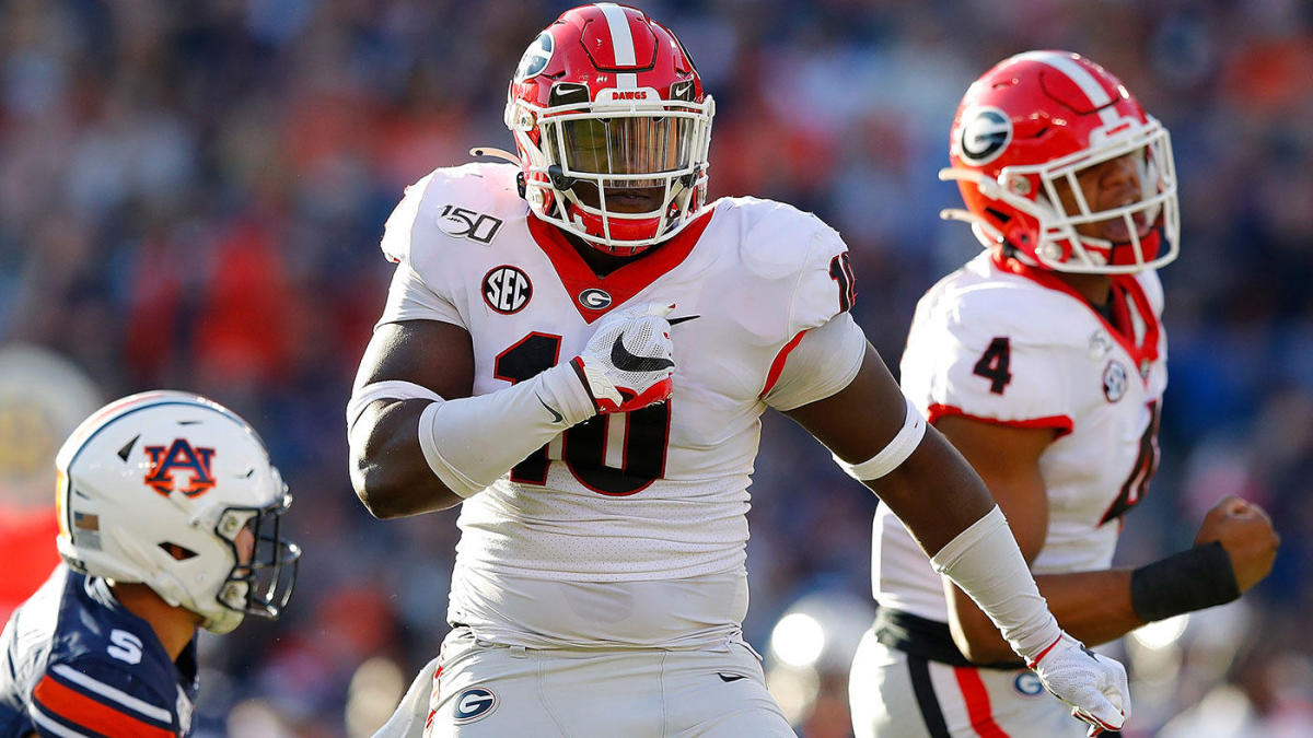 Georgia Vs Auburn Score Takeaways Dawgs Hold Off Late Rally Clinch Third Straight Sec East Title Cbssports Com