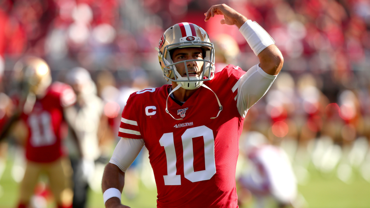 Cardinals at 49ers score: Jimmy Garoppolo leads comeback as San Francisco fends off feisty Arizona - CBSSports.com
