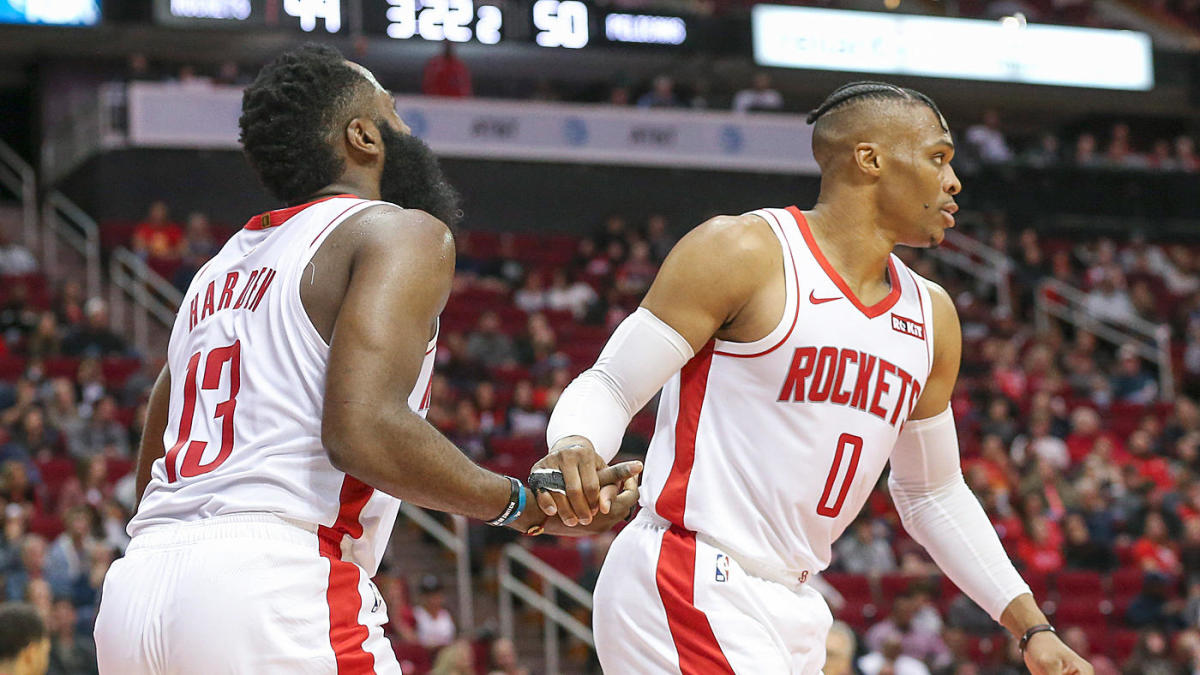 NBA overreactions: James Harden, Russell Westbrook mask Rockets' flaws; Heat's hot shooting sustainable