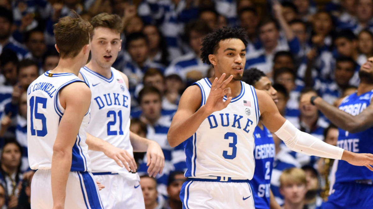 College Basketball Rankings Duke Replaces Kentucky At No 1