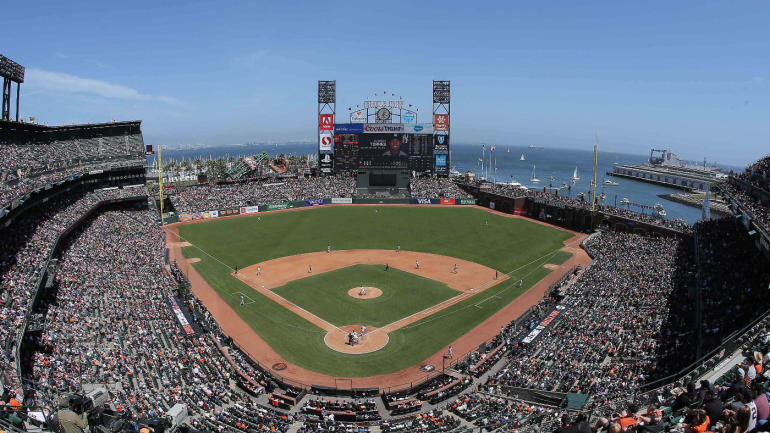 The Giants have started the process of bringing the fences in at Oracle Park, per report