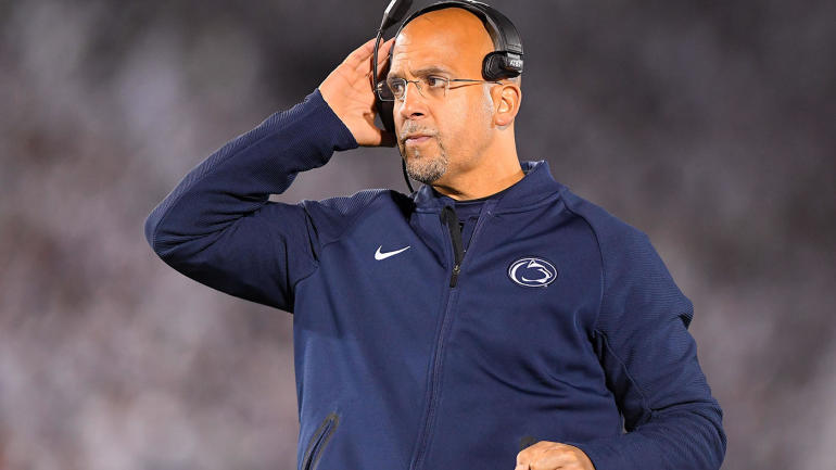 Penn State and coach James Franklin agree to contract extension through 2025 season