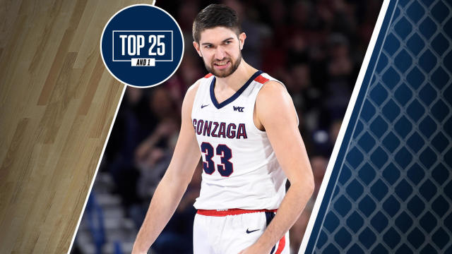 College Basketball Rankings Gonzaga Holds Steady In Top 25