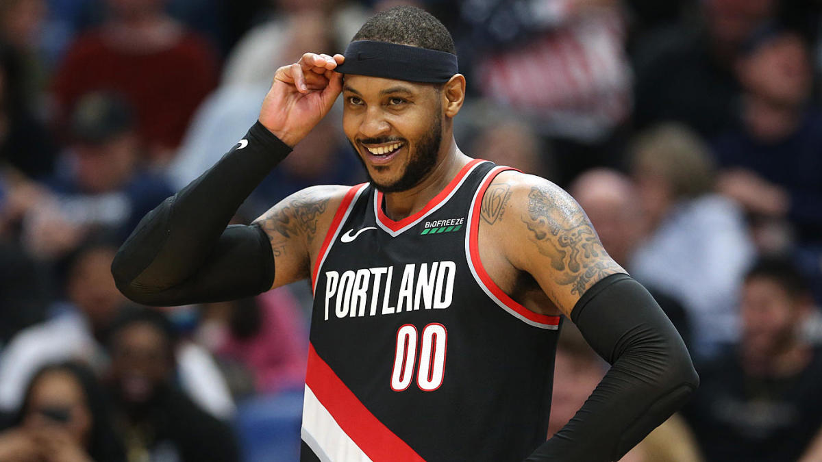 Carmelo Anthony says Blazers being 'transparent' about starting role was key factor in his decision to sign