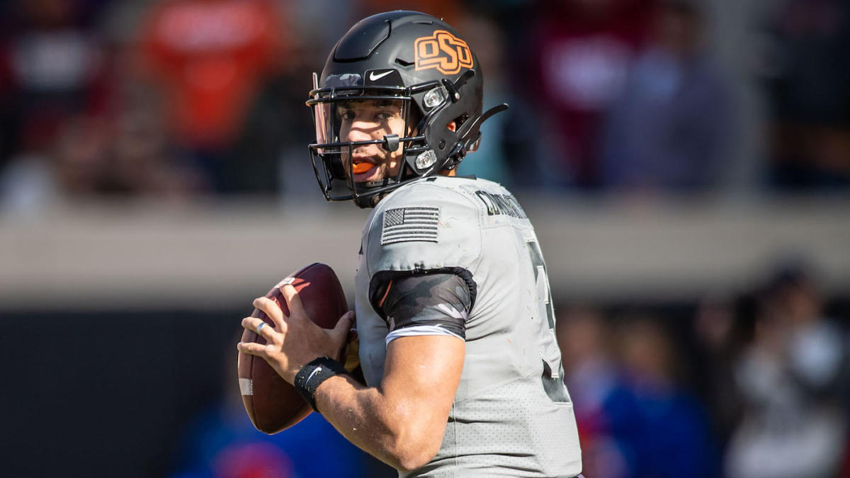 Oklahoma State QB Spencer Sanders out for season following thumb surgery