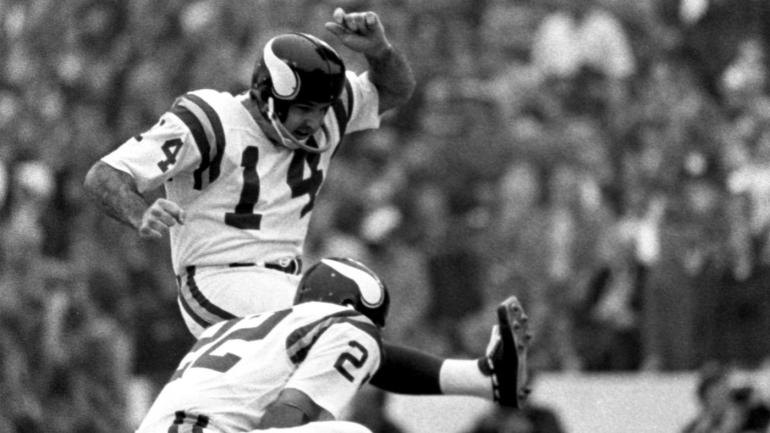 Former Vikings kicker Fred Cox, who created the NERF football, dies at age 80