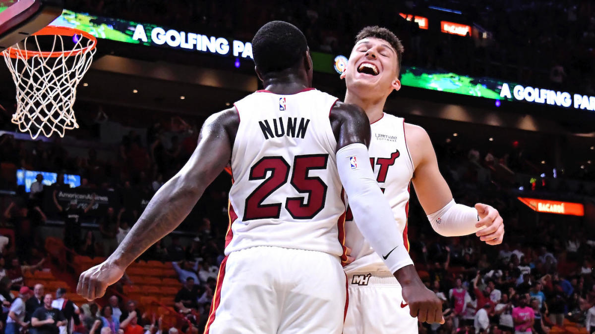 Nba Rookie Power Rankings Miami Heat Getting Huge Production Out Of Their Young Duo Cbssports Com