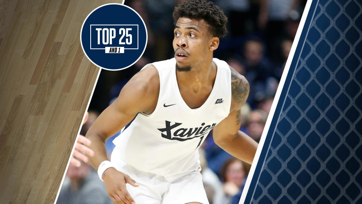 College Basketball Rankings Xavier No 24 In Top 25 And 1