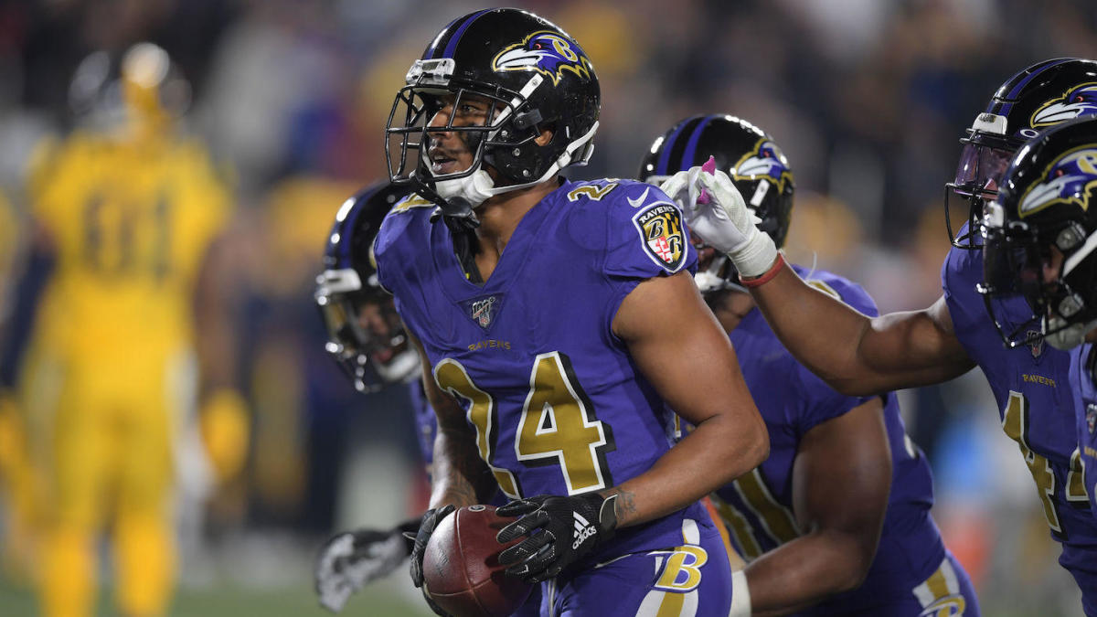 Marcus Peters and Jalen Ramsey have heated exchange following Ravens' blowout win over Rams