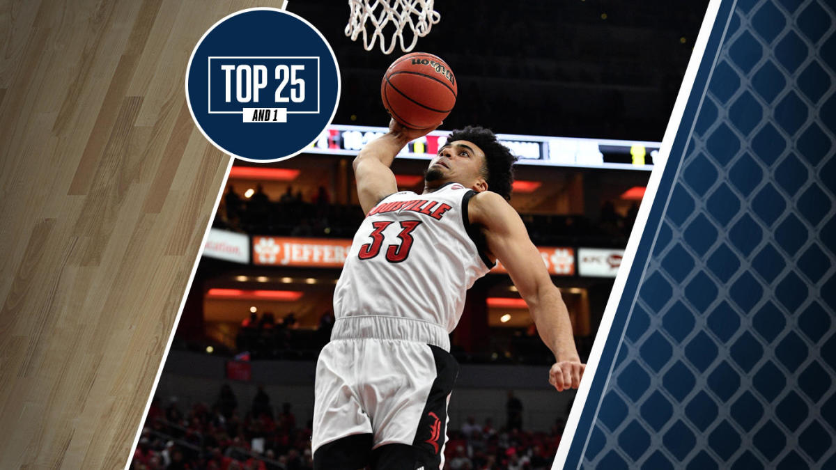 College Basketball Rankings Louisville No 1 In Top 25 And