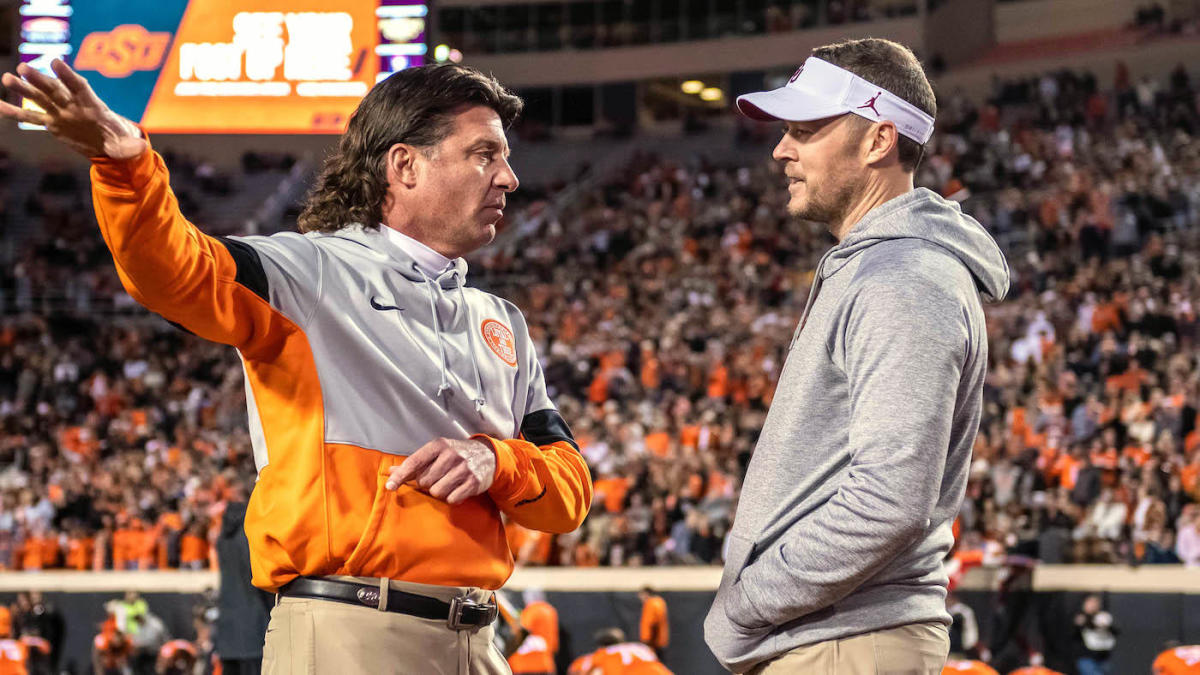 Oklahoma vs. Oklahoma State: Live stream watch online TV channel coverage kickoff time odds spread pick – CBSSports.com